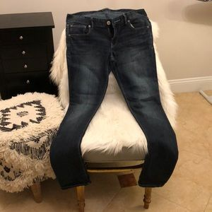 Express Stella skinny medium wash jeans!